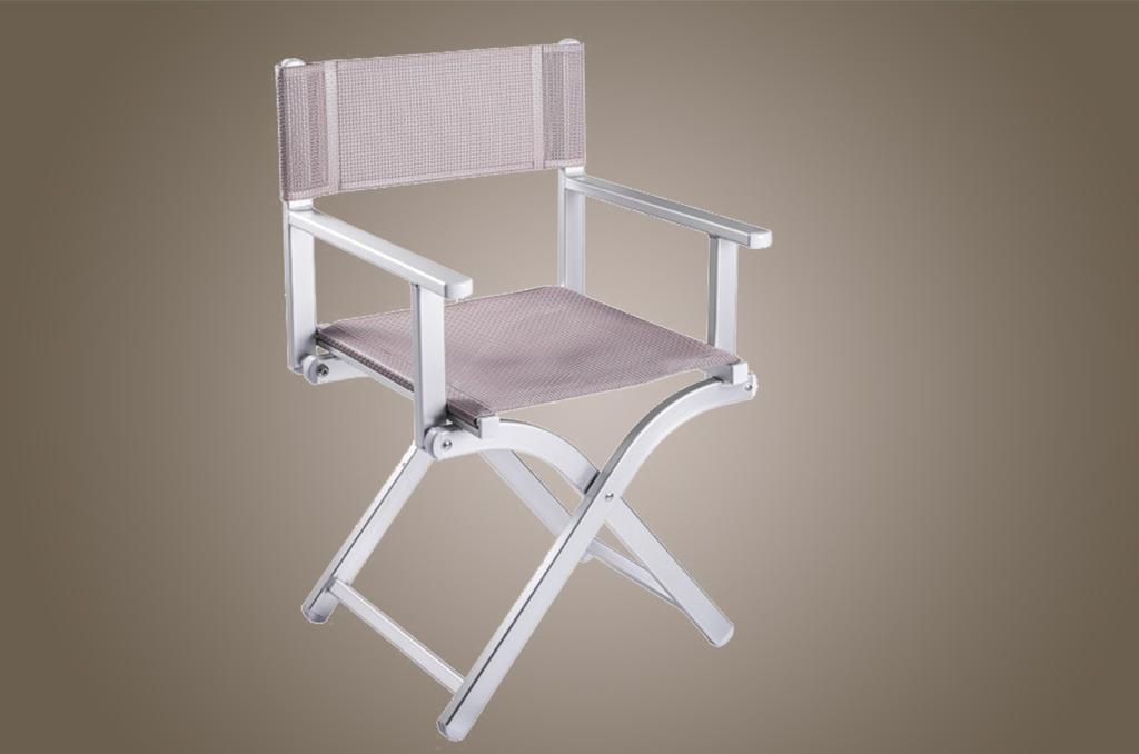 Sedie in alluminio bizeta alluminio srl lettini sdrai e for Sedie alluminio